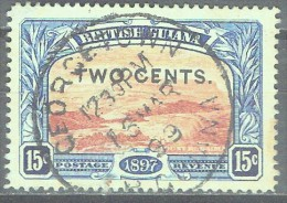 BRITISH GUYANA - QV - YVERT # 95 - VF USED - British Guiana (...-1966)
