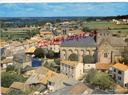 79 - LE PIN - L' EGLISE ET LE CENTRE DU BOURG    VUE AERIENNE - Autres Communes