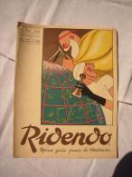 Ridendo Revue Gaie Pour Le Médecin N°10 1934 Dessins De Bib, Bils, Touchet Etc... - 1900 - 1949