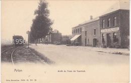 ARLON (Aarlen) - Arret du Tram de Toernich - Ed Nels ser 31 No 73 - (Tram a Vapeur, Vicinal, Stoomtram) - ETAT PARFAIT !