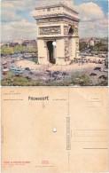 75. Carte Musicale. PARIS. L'Arc De Triomphe. 'Maman, La Plus Belle Du Monde' - Non Classés