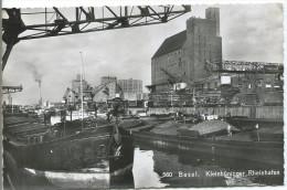 BASEL - (Bâle) Kleinhüninger - Rheinhafen - BS Bâle-Ville