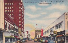 Florida Orange Avenue Main Shopping District