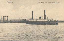 Velsen (IJmuiden), Rijks Pont Over Het Noordzeekanaal - IJmuiden