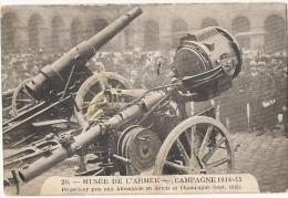 MUSEE DE L´ ARMEE - Campagne 1914-15 Projecteur Pris Aux Allemands En Artois - Neuve /unused - Ausrüstung