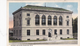 Federal Building, SHERIDAN, Wyoming, 10-20s - Sheridan