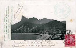 BRASILIEN Bolafogo E Corcovado Avenida - Beira Mar - Gelaufen 1912 - Sonstige