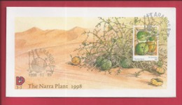 NAMIBIA, 1998, Mint FDC 3.3, The Narra Plant, Stampnr(s). SACC 239, F3613 - Namibia (1990- ...)