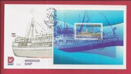 NAMIBIA, 1999, Mint FDC 3.10, Windhoek Ship, Stampnr(s). SACC 295, F3628 - Namibia (1990- ...)
