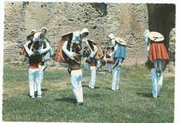 """Fréjus, Folklore , """" LA MIOUGRANO """" La Volte Danse Du 16 ème Siècle , Collection La Miougrano , Cpsm, Non Voyagée - Frejus"""