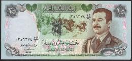 IRAQ P73  25  DINARS  1986    UNC. - Iraq