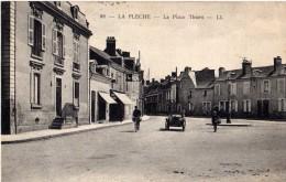LA FLECHE, La Place Thiers - La Fleche