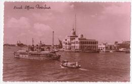 Carte Photo - Port Said - Canal Offices, Circulation Fluviale à L'entrée Du Canal - Pas Circulé - Port Said