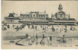 Levy Et Neurdein Reunis Postcard, Calais, La Plage, 31 Animee - Calais