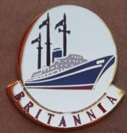 BATEAU LE BRITANNIA - EX H.M  YACHT DE LA REINE D´ANGLETERRE  - QUEEN    -        (10) - Boats