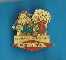 PIN´S //   .  C M A . ASSURANCE AUTOMOBILE - Badges