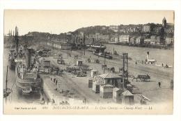 Cp, 62, Boulogne-sur-Mer, Le Quai Chanzy - Boulogne Sur Mer