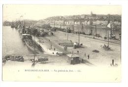 Cp, 62, Boulogne-sur-Mer, Vue Générale Du Port, Voyagée 1904 ? - Boulogne Sur Mer
