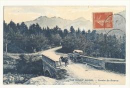Cp, 63, Le Mont-Dore, Route De Sancy, Voyagée - Le Mont Dore