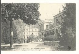 Cp, 66, Vernet-les-Bains, Le Casino Et L'Hôtel Du Portugal, Voyagée - Andere Gemeenten