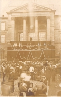 SEINE MARITIME  76  ROUEN  INCENDIE DE QUEVILLY  1909  INHUMATION DE QUATRE POMPIERS  CARTE PHOTO - Rouen