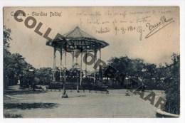 Sicilia Catania Giardino Bellini cartolina originale ca1900 Italy original Postcard W4-413