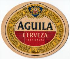 SPAIN - AGUILA BEER MAT - AMSTEL BREWERY - NEW UNUSED - Beer Mats