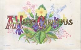 VICTORIAN  ERA  1870´s   CHRISTMAS  CARD  BY  MARCUS  WARD - Christmas