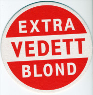 BELGIUM - EXTRA VEDETT BLOND BEER MAT - NEW UNUSED - Beer Mats