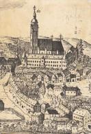 Zagreb Guild`s Charter Engraving 1796 Detail 16X11cm Postcard 171 - Kroatien