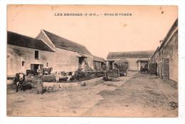 91 - LES BROSSES (S.-et-O.) - Ferme De Vildedon - (Saintry-sur-Seine) - Animée - - France
