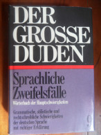 """Der Grosse Duden 9  """"Sprachliche Zweifelsf�lle""""  de 1965"""