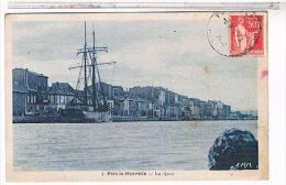 CPA   11 PORT LA NOUVELLE LES QUAIS BATEAUX   1925  CB971 - Port La Nouvelle