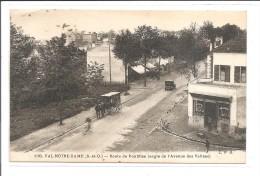 DEP. 95 Val-Notre-Dame N°1193 Route De Pontoise (angle De L'Avenue Des Vallées) Boulangerie Pâtisserie, Diligence,  Auto - Francia