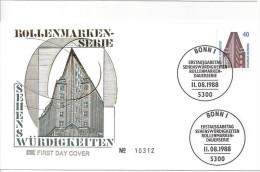 Germany 1988  SWK, Chilehaus, Hamburg  FDC  Mi.1379 - FDC: Covers