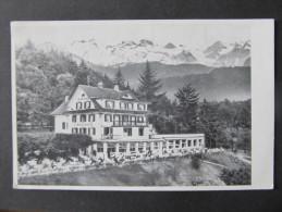AK SEEBURG LUZERN Am See Hotel Hermitage  ///  D*13748 - LU Lucerne