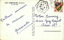 Sur CPM CàD Hexagonal De Mantes-la-Jolie C.P. N°7 - FRANCO DE PORT - 1961-....