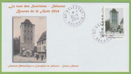 Sélestat Mon Timbramoi La Tour Des Sorcières 2014 - France