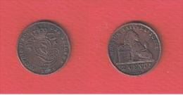 BELGIQUE  //  2 CENTIMES 1876      //  KM # 35.1.  //  ETAT  TB - 1865-1909: Leopold II