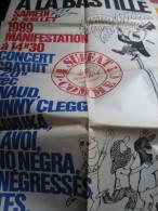 Affiche (86x64 Cm) : Bastille 89 - �a Suffat Comme Ci (Concert Renaud-Clegg-Mano Negra-Negresses Vertes)