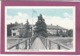 COTTAGE OF GEO S. TIFFANY DARK HARBOR, MAINE - Etats-Unis
