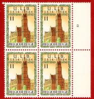 1984  -  BELGIQUE  N°  2112**   Bloc  De  4   Timbres  Neufs - Collections