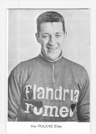 Elias Van POUCKE - Equipe FLANDRIA ROMEO  - 2 Scans - Cyclisme