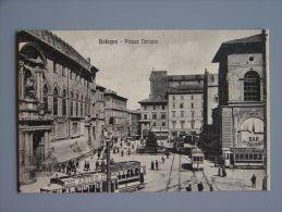 Bo2198)  Bologna -  Piazza Nettuno  -  Tram - Bologna