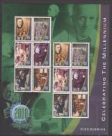IRLANDE     2000       Feuille        N° 1220 / 1225          COTE   27 € 00 - 1949-... République D'Irlande