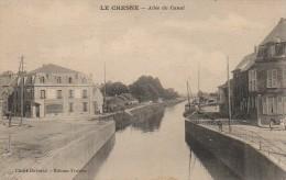 08 LE CHESNE Allée Du Canal - Le Chesne