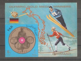 Hojita Bloque  Sin Dentar Olympic Games  Germany - Yemen