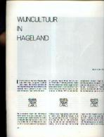 """« Wijncultuur In HAGELAND » Article (7 Pages - 7 Illustrations) In Revue """"BRABANT"""" (2-1974) - Histoire"""