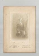 photographie , 14 X 10 cm , FEMME , 1915  , phot : Sutter , Asni�res ,  frais fr : 1.80�