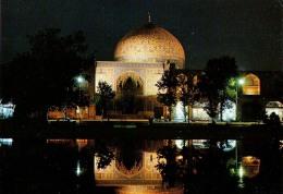 AK IRAN ISFAHAN  SHEIKH LOTTOLLAH MOSQUE PROCESO A.G.S.A. ITALY ALTE POSTKARTEN - Iran